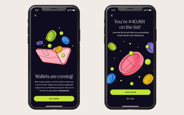 Robinhood bắt đầu thử nghiệm ví tiền điện tử vào tháng tới |  Tận tụy